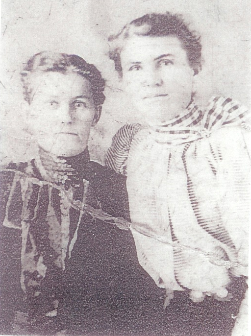 Mrs. Jane (Darker) Parr and daughter Lydia