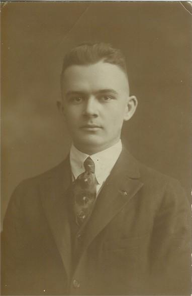 Bryan Parr circa 1916