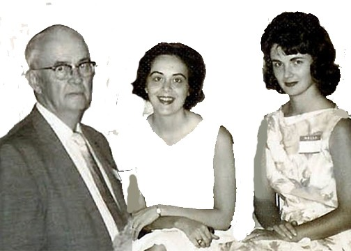 Catherine, Ruth, and Bryan Parr - 1962