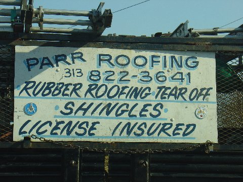 PARR ROOFING