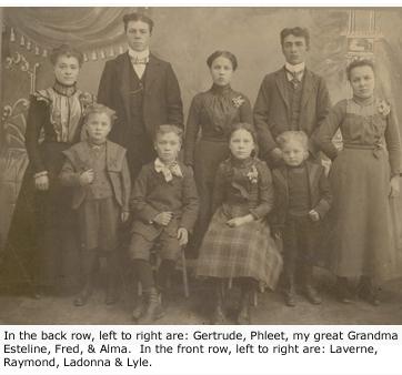 Willis Parr's children