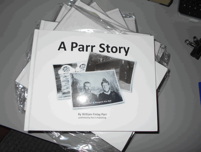 William Findlay Parr's Parr Story in book format